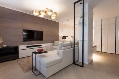 Дизайнерский ремонт в 3-комнатной квартире улучшенной планировки